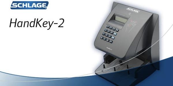 Handkey 174 Ii Biometric Hand Geometry Reader By Ingersoll