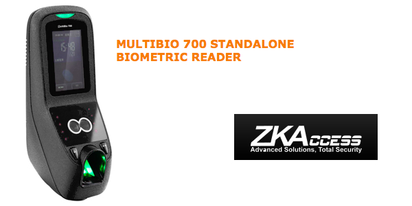 MULTIBIO 700 STANDALONE BIOMETRIC READER by ZKAccess