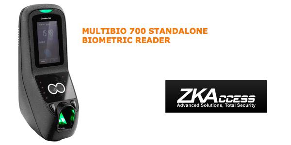MULTIBIO 700 STANDALONE BIOMETRIC READER by ZKAccess