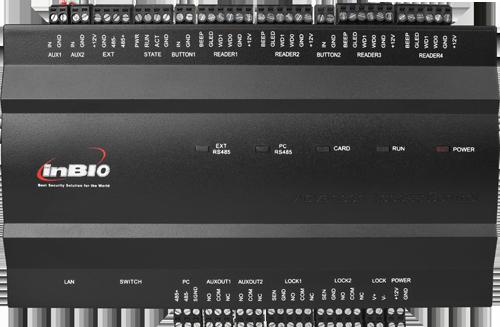 Inbio 460 Ip Based Biometric Door Access Control Panel By